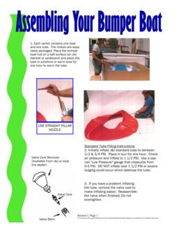 Assembling Your Bumper Boat