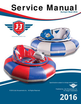 Bumper Boat Service Manual 2016