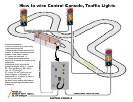 Electrical – How to wire CC-100 and traffic lights