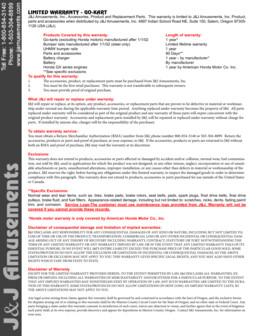 Warranty – Go-kart_08-19-2014