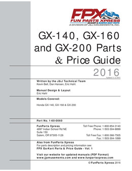 GX140-160-200 Parts Guide 2016