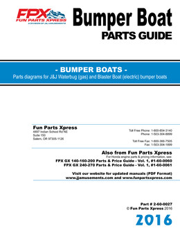 Bumper Boat Parts Guide 2016