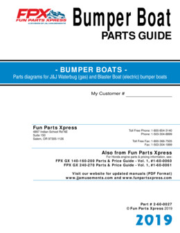 Bumper boat parts guide – 2019