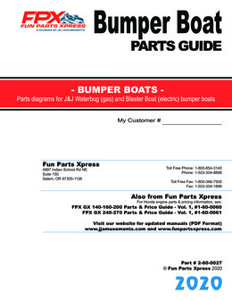 Bumper Boat Parts Guide – 2020