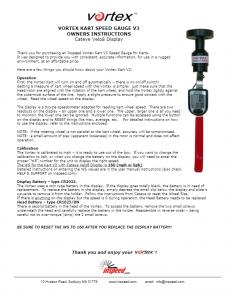 Vortex-V3-Calibration-Owners-Instructions
