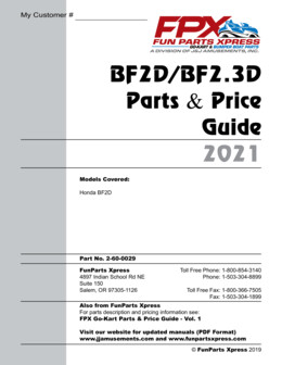BF2D Parts Guide